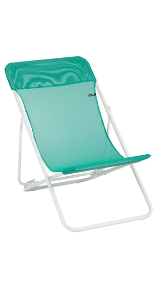 Lafuma Mobilier MAXI TRANSAT - Siège camping - Sun Glam Batyline turquoise